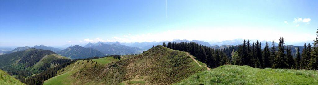 Panoramablick Wertacher Hörnle