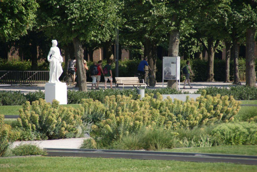 Die grüne Lunge der Stadt: der Schlossgarten