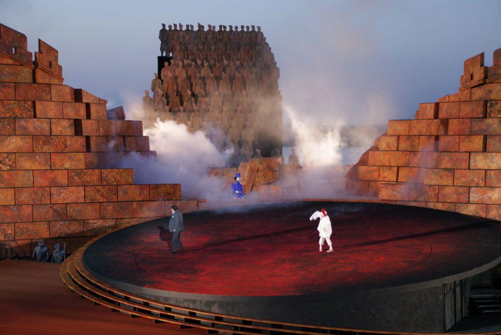 Spiel auf dem See - die ersten Minuten in der italienischen Oper Turandot