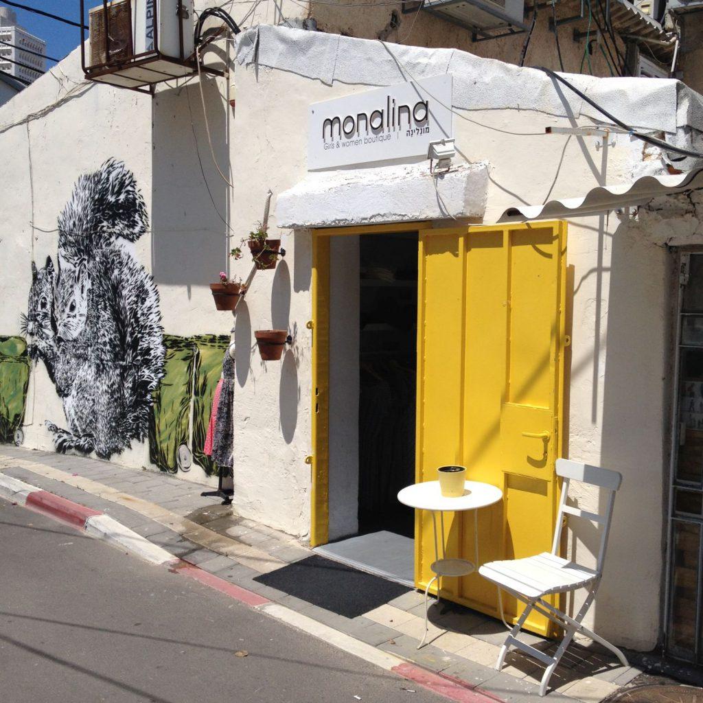 Und in wohl kaum einem anderen Viertel Tel Avivs könnt ihr so viel Street Art bestaunen wie in Neve Tzedek