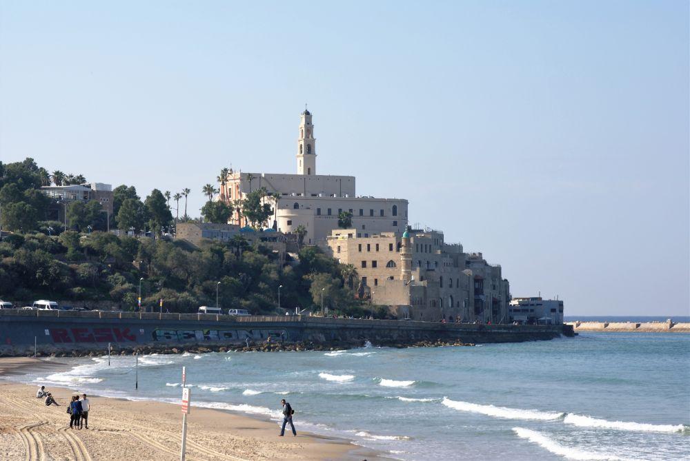 Blick auf die Altstadt von Jaffa