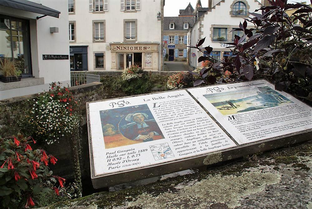 Auf den Spuren von Kommissar Dupin und Paul Gauguins in Pont-Aven